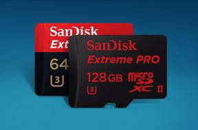 サンディスク エクストリーム プロmicroSDXC UHS-IIカード