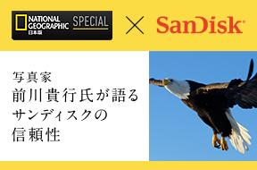 サンディスク エクストリーム・チーム 前川貴行氏が語るサンディスクの魅力