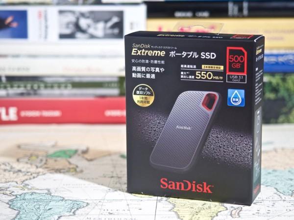 サンディスク エクストリーム ポータブル SSDは250GBから1TBまで3モデルをラインアップ。さらに2TB版も発売予定だ