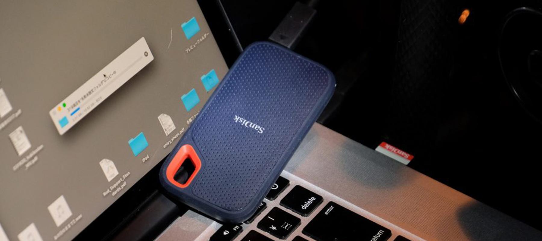 サンディスク エクストリーム ポータブルSSDが活躍する映像制作現場