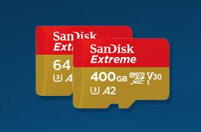 サンディスク エクストリーム MicroSD  UHS-I カード