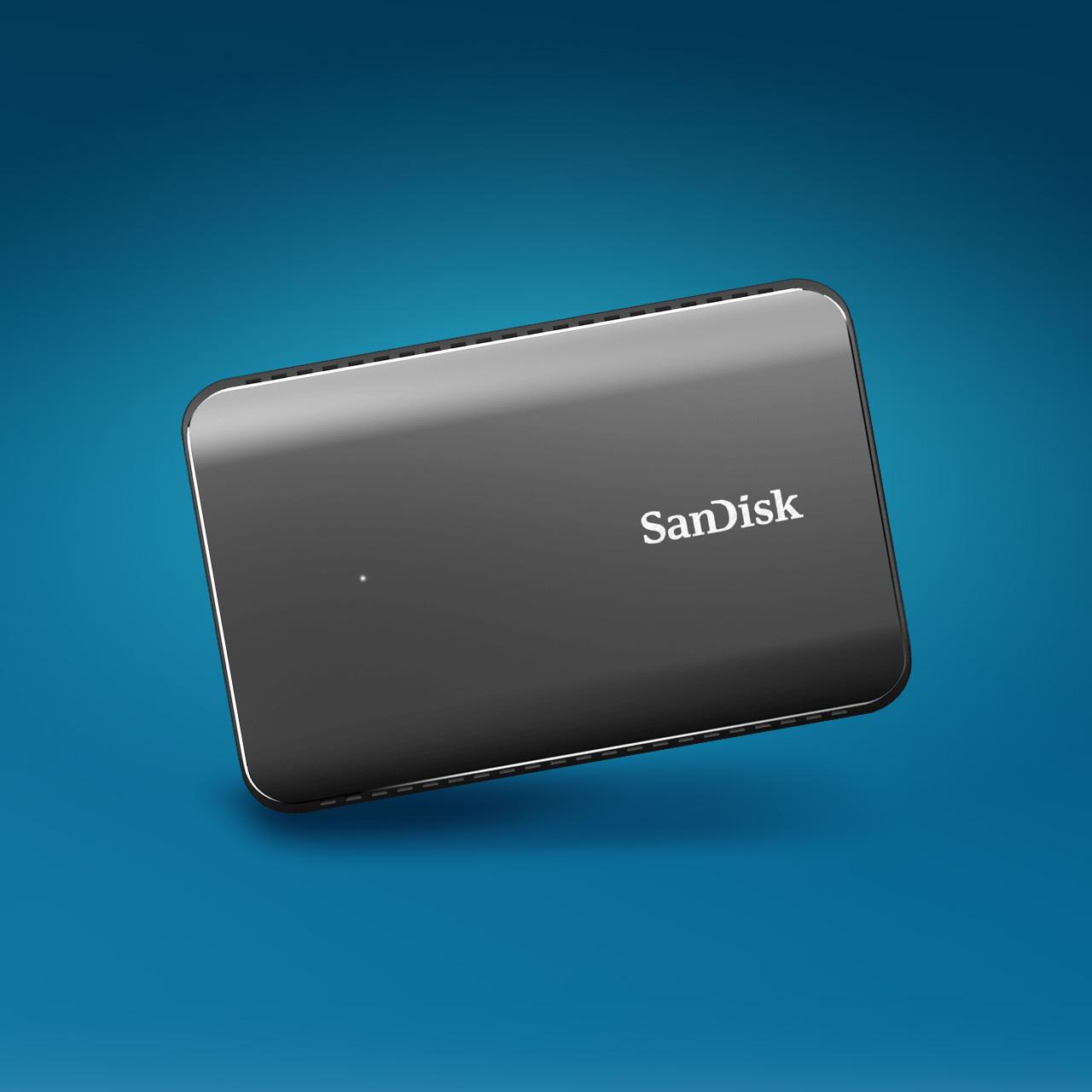 サンディスク CREATOR'S SESSION<br> データの転送がこれだけ速ければ作業の効率が大きく変わる | エクストリーム900 ポータブルSSD