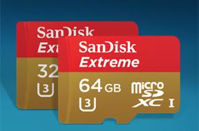 サンディスク エクストリームmicroSDHC/microSDXC UHS-Iカード