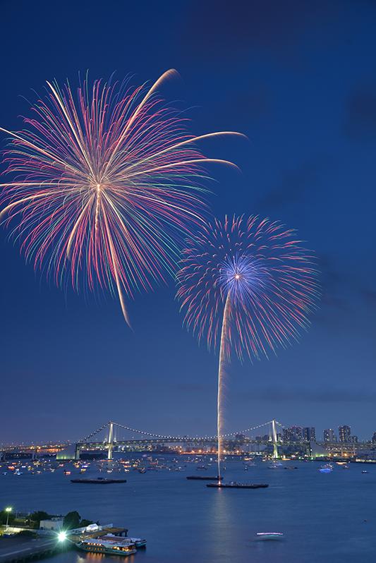 2015年8月 東京都 東京湾大華火祭