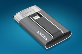サンディスク iXpand™ フラッシュドライブ