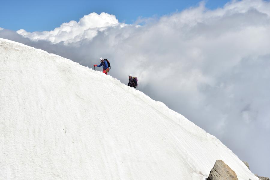 記録メディア:サンディスク エクストリーム プロ SD UHS-Ⅱカード/撮影地:ヨーロッパアルプス・モンブラン山群