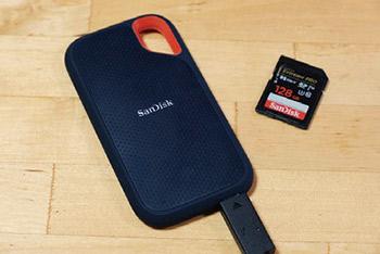 長年SDカードを愛用して来たので、サンディスクの製品には馴染みがあり、安心して使用出来る。