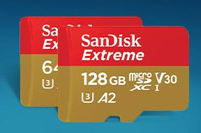 サンディスク エクストリーム microSDHC/microSDXC UHS-Iカード